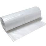 Clear Poly Film Sheeting 10' x 100' x 6 mil