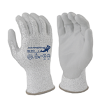 ANSI Cut Level 3 Gloves PU Palm Coating on HPPE