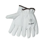 Unlined goatskin drivers gloves L