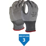 ANSI 3 Cut Resistant Glove Polyurethane on HPPE