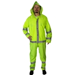 Econo-Viz 1820S 3-Piece Rainsuit w/Reflective Tape